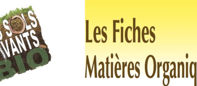 Fiches Compostage et Matieres Organiques Chambre d'Agriculture PACA