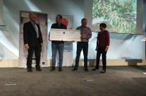 Notre Kit d'étude de la Stabilité Biologique des Sols primé au prix de l'innovation par la fondation Pierre Sarazin