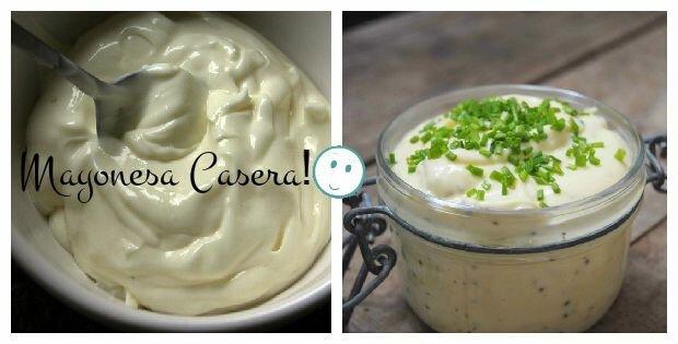 Como hacer mayonesa casera! Muy rica