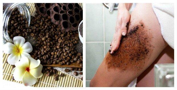 exfoliante casero de cafe