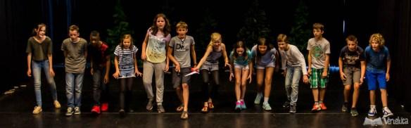 Cardenis, groep 8 musical kbs het Atelier 2016