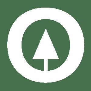 Vertical Generation Logo White