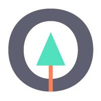 vertical generation logo