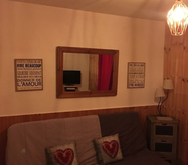 Location meublée – Appartement Bourg St Maurice – Ref 2018.03