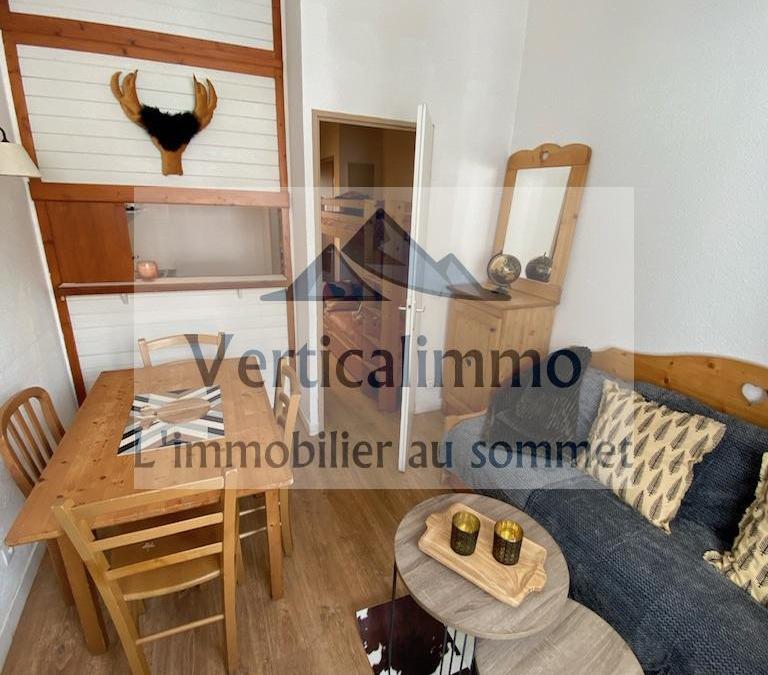 Vente Studio avec coin montagne au Centre de Tignes Val Claret – Ref 2020.09
