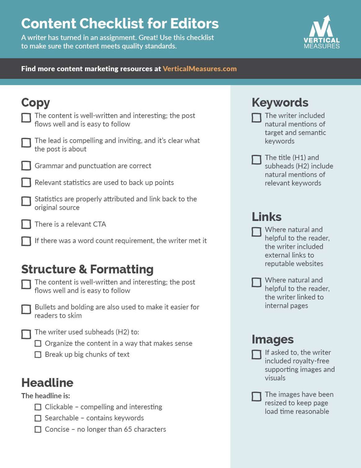 11-Content-Writing-Best-Practices-Printable-Checklist