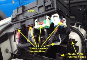 TIPM Repair Service  Door Locks, Wipers, Washer Fluid (Double Relay) | Vertical Visions