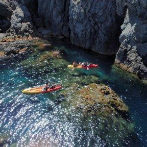 Kayak de mer proche de Calvi