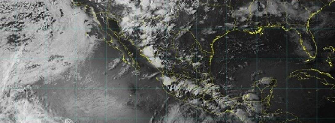Se prevé lluvia muy fuerte y posible granizo en Sonora, Nayarit, Jalisco, Veracruz, Puebla, Oaxaca y Chiapas, durante la noche
