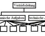 Vertriebsorganigramm Konzept und Strategie