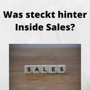 Was steckt hinter Inside Sales