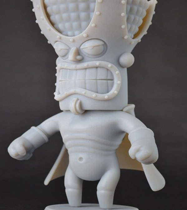 3D printed Tki-Guy_3D_Printed_Digital_Character_