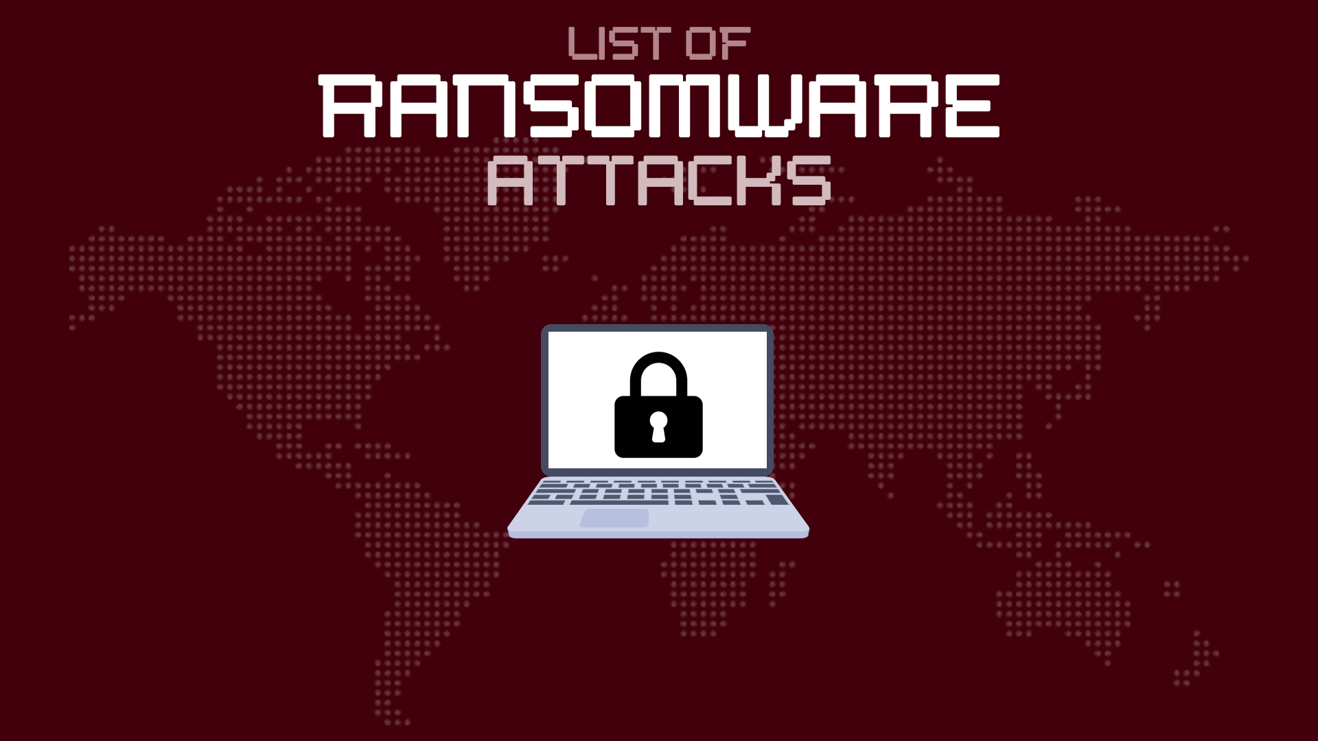 List of Ransomware Attacks in 2019