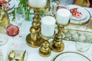 Nel Lusso Pillar Candle Holders from $39.90