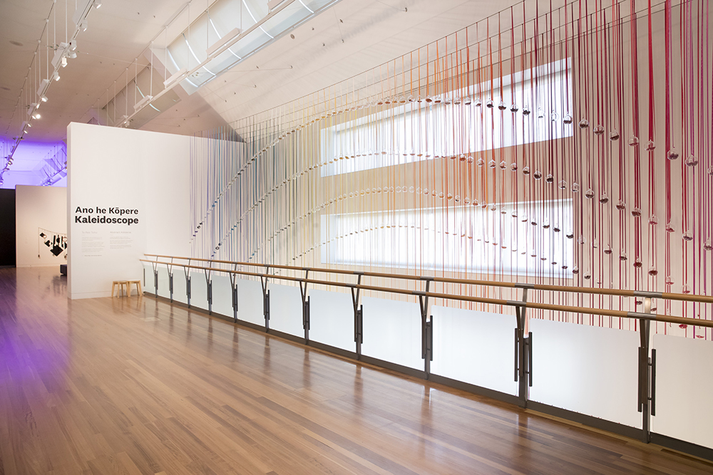 Indra's Bow, 2018 by Tiffany Singh. Photograph by Maarten Holl. Courtesy of Te Papa