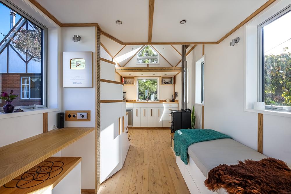 Inside Bryce's Tiny House