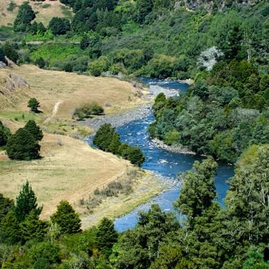 Taumarunui river
