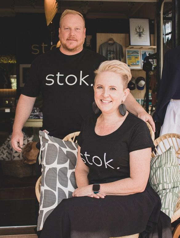 Elisabeth and Bruce Ric Hansen. stok.