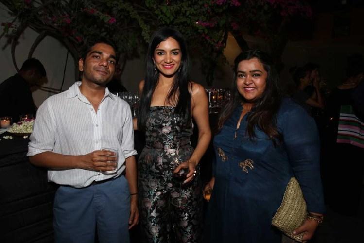 Nimish Shah, Sunaina Kwatra and Pooja Churiwala