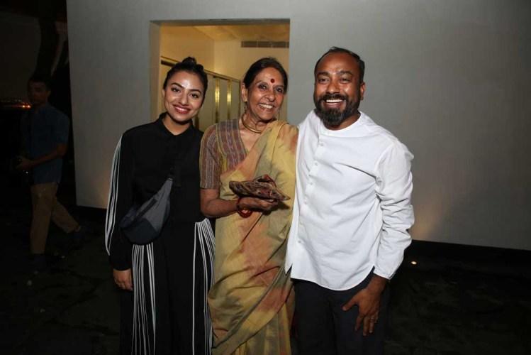 Ruchika Sachdeva, Jaya Jaitly and Sanjay Garg