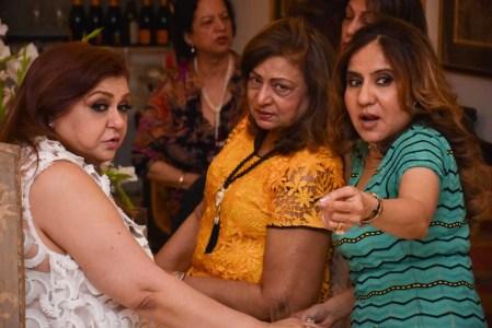 Meena Raheja, Mona Narang and Priyanka Thakur