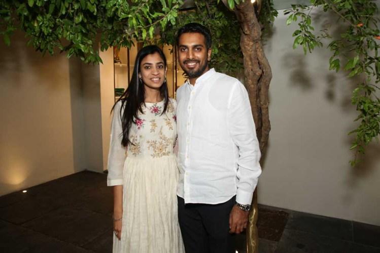 Yogesh and Ruthvi Chaudhary