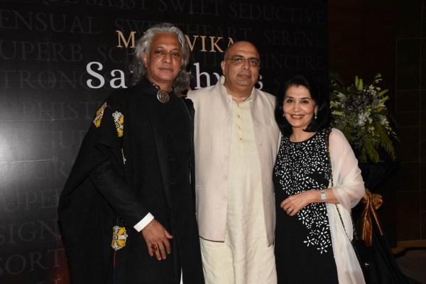 Sumanth Jaykishan, Tarun Tahiliani and Tasneem Mehta