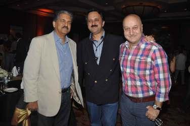 Anand Mahindra, Rohit Khattar, Anupam Kher