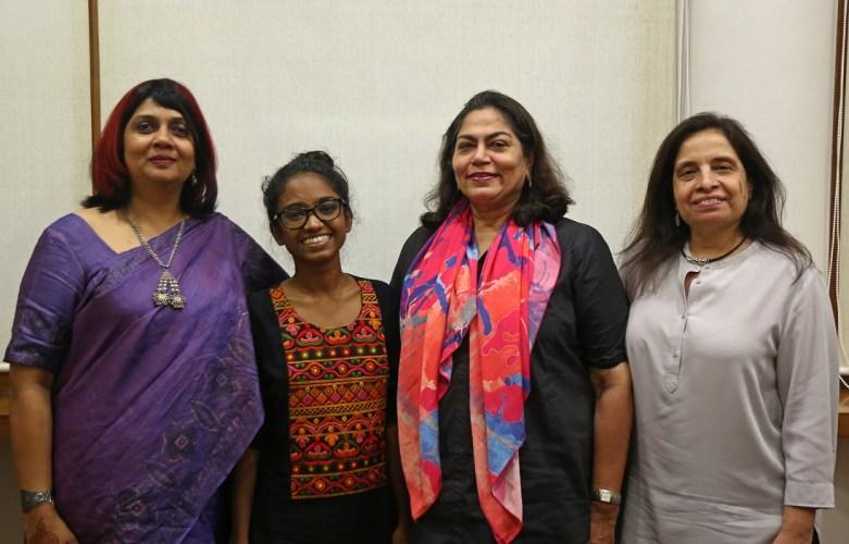 Left to right: Pallavi Kanchan, Shweta Katti, Arti Sarin and Shirin Mehta