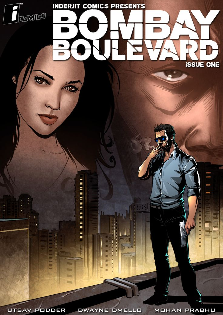 Bombay Boulevard, Graphic Novels, Inderjit Comics,