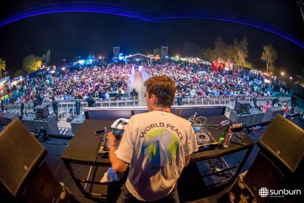 Felix De Laet, aka Lost Frequencies, in Mumbai