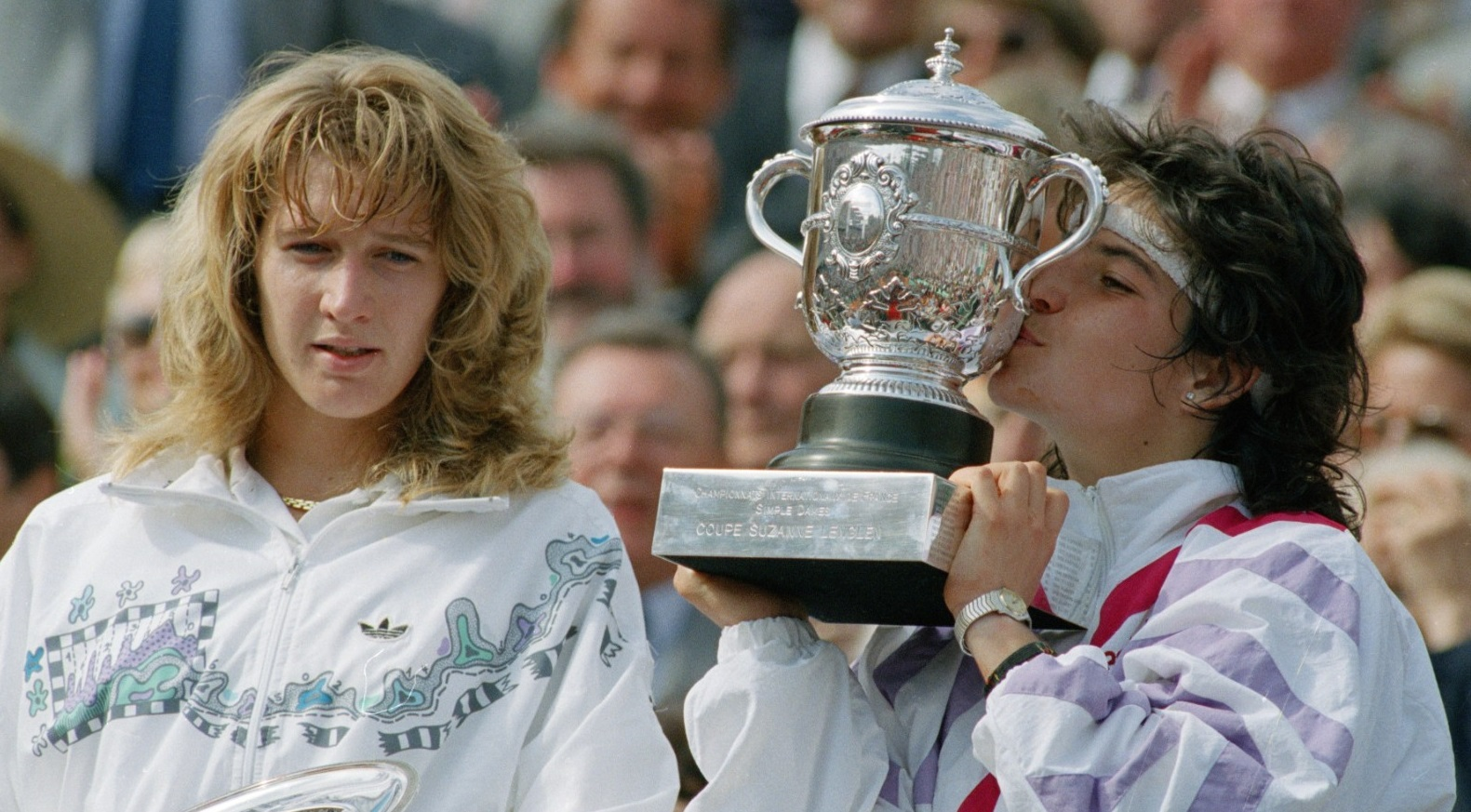 Images Steffi Graf Delightful meet the tennis champion who bested steffi graf at the french open