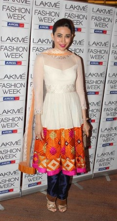 In Manish Malhotra at Lakme Fashion Week, 2013