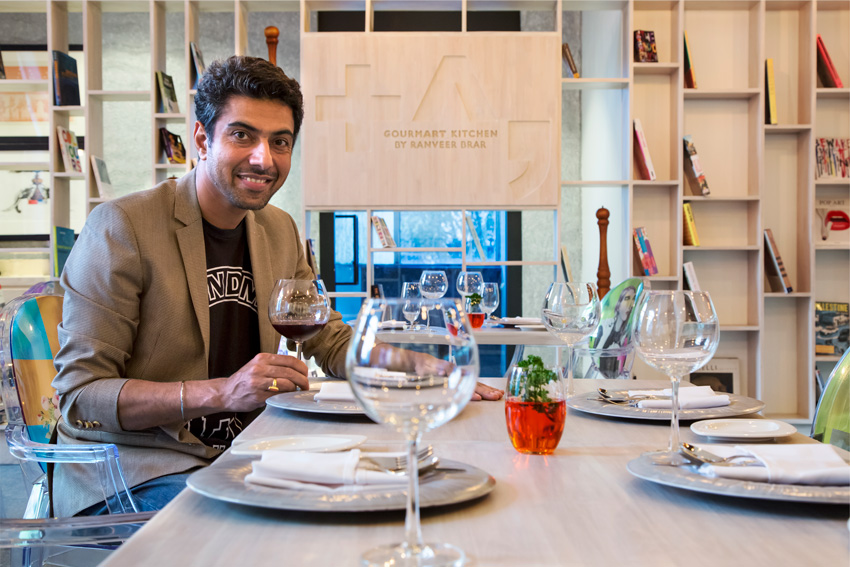 Chef Ranveer Brar. celebrity chef, food, Mumbai, restaurant, TAG Gourmart Kitchen, Mumbai, restaurant