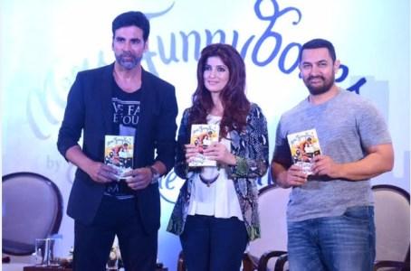 Akshay Kumar, Twinkle Khanna and Aamir Khan