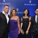 Mustafa and Rukhsana Eisa, Khushboo and Sukhbir Bagga at the Maserati Launch in Mumbai
