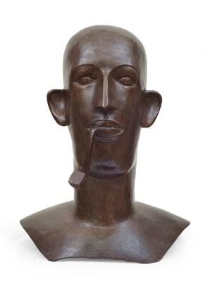 Babu with pipe (Head)
