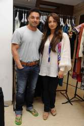 Sohail and Seema Khan