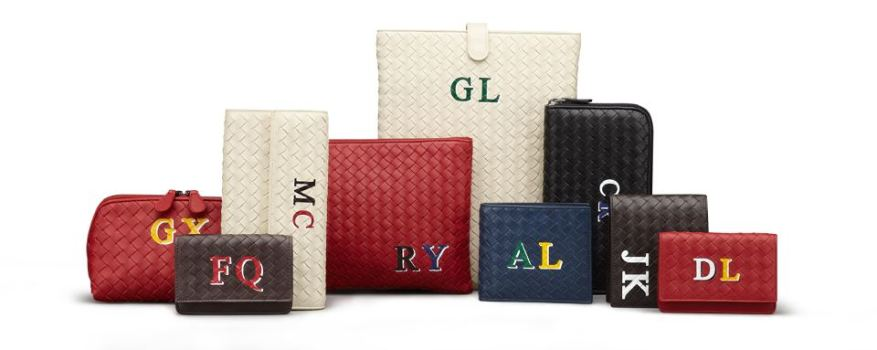 Personalised accessories' range from Bottega Veneta