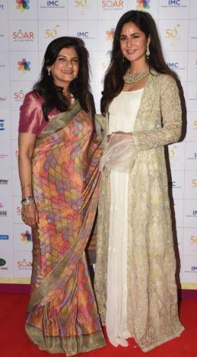 Radhika Nath and Katrina Kaif