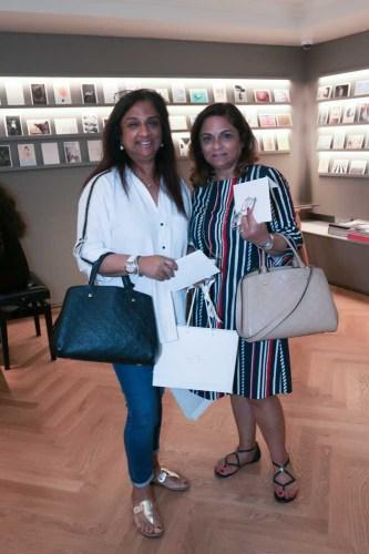 Nazeen Mirpuri and Nisha Chugani