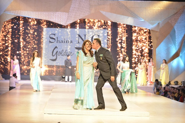 Zenobia and Boman Irani at the CPAA Fashion Show, Mumbai