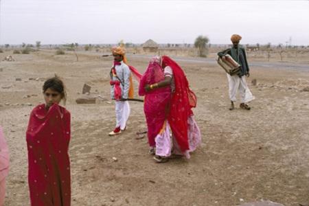 A Wedding Party, Jodhpur-Jaisalmer Road