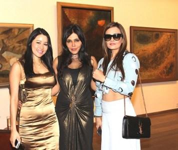 Shruti Aggarwal, Nisha Jamvwal and Jasmine Dawda