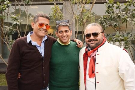 AD Singh, Sanjay Kapur, JJ Valaya