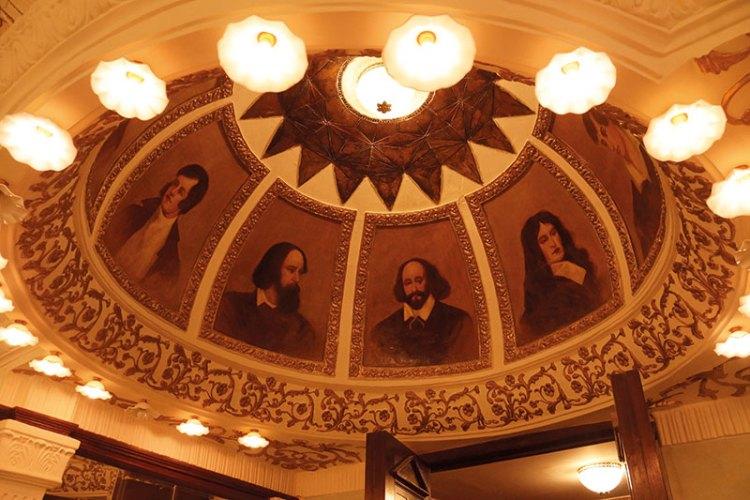 Interiors of Mumbai's Royal Opera House