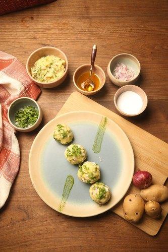 Aarya Dinner Plate, from Fabindia.