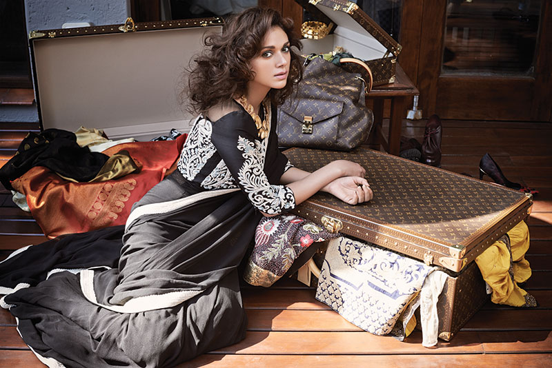 Aditi Rao Hydari Bollywood Verve Cover September Bridal Cover Louis Vuitton