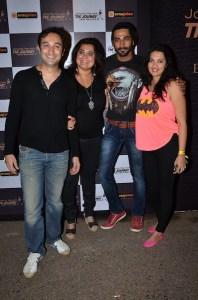 Aditya Hitkari, Divya Palat, Vivan Bhatena and Nikhila Bhatena