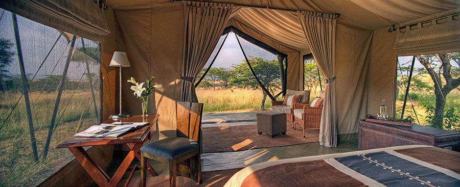 The Tented Suite at Naboisho Camp
